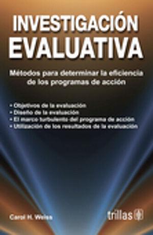 INVESTIGACION EVALUATIVA / 3 ED.