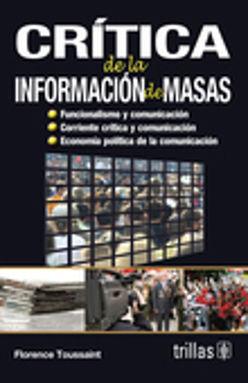 CRITICA DE LA INFORMACION DE MASAS