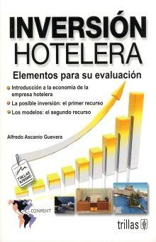 INVERSION HOTELERA. ELEMENTOS PARA SU EVALUACION