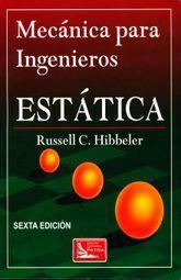 MECANICA PARA INGENIEROS. ESTATICA / 6 ED.