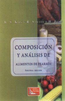 COMPOSICION Y ANALISIS DE ALIMENTOS DE PEARSON / 2 ED.