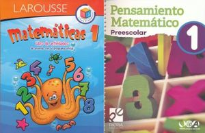 PAQ. MATEMATICAS 1 (LIBRO DE ACTIVIDADES) / PENSAMIENTO MATEMATICO 1