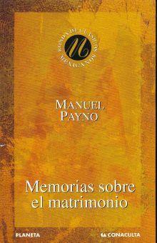 MEMORIAS SOBRE EL MATRIMONIO