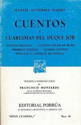 # 19. CUENTOS Y CUARESMAS DEL DUQUE JOB