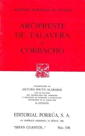 # 338. ARCIPRESTE DE TALAVERA O CORBACHO