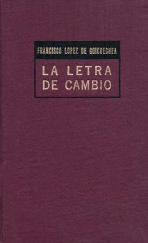 LETRA DE CAMBIO, LA / 6 ED. / PD.