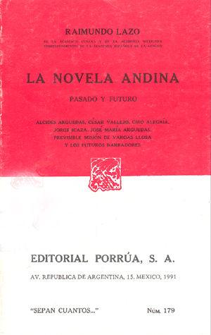 # 179. LA NOVELA ANDINA