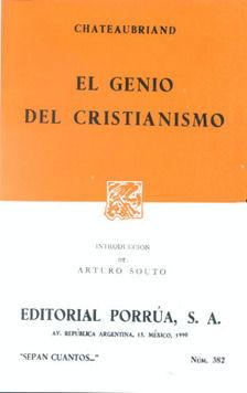 # 382. EL GENIO DEL CRISTIANISMO