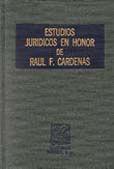 ESTUDIOS JURIDICOS EN HONOR DE RAUL F...