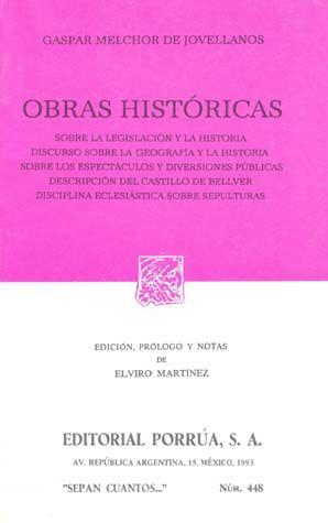 # 448. OBRAS HISTORICAS