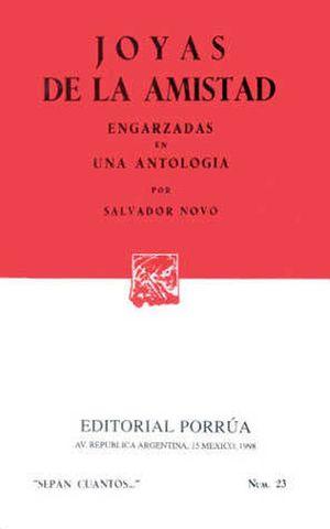 # 23. Joyas de la amistad. Engarzadas en una antología / 8 ed.