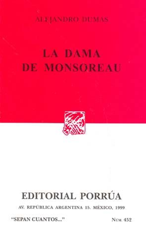# 452. DAMA DE MONSOREAU