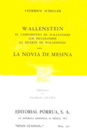 # 458. WALLENSTEIN / CAMPAMENTO DE WALLENSTEIN