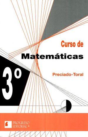 CURSO DE MATEMATICAS 3. SECUNDARIA