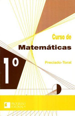CURSO DE MATEMATICAS 1. SECUNDARIA