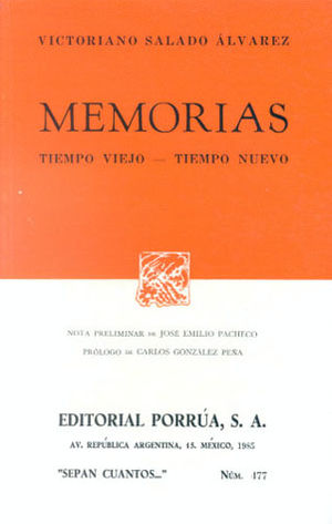 # 477. MEMORIAS / TIEMPO VIEJO / TIEMPO NUEVO. EPISODIOS NACIONALES