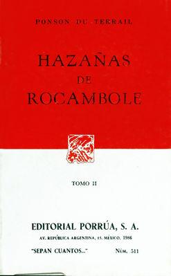# 511. HAZAÑAS DE ROCAMBOLE / TOMO II