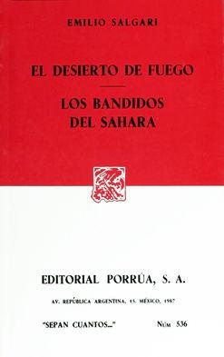 # 536. EL DESIERTO DE FUEGO / LOS BANDIDOS DEL SAHARA