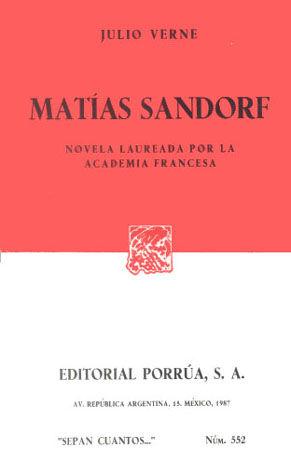 # 552. MATIAS SANDORF