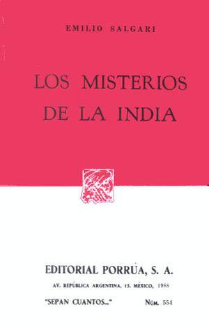 # 554. LOS MISTERIOS DE LA INDIA