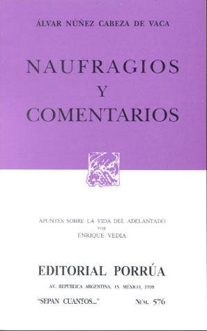 # 576. NAUFRAGIOS Y COMENTARIOS