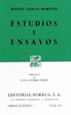 # 621. ESTUDIOS Y ENSAYOS