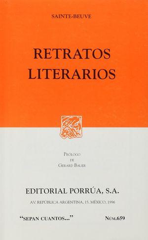 # 659. RETRATOS LITERARIOS