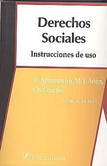 DERECHOS SOCIALES. INSTRUCCIONES DE USO