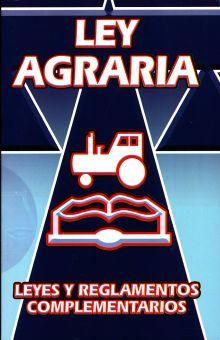 Ley agraria y leyes complementarias