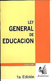 LEY GENERAL DE EDUCACION. ACTUALIZADO