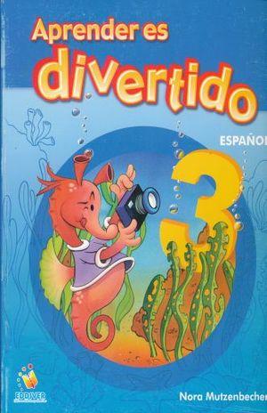 APRENDER ES DIVERTIDO ESPAÑOL 3. PRIMARIA