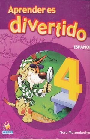 APRENDER ES DIVERTIDO ESPAÑOL 4. PRIMARIA