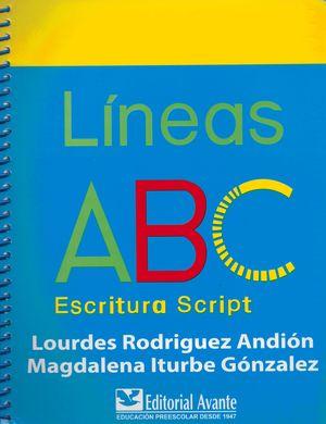 LINEAS ABC ESCRITURA SCRIPT. PRIMARIA