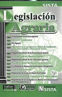 LEGISLACION AGRARIA