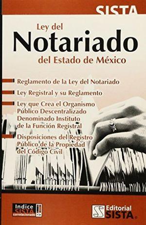 LEY DEL NOTARIADO PARA EL ESTADO DE MEXICO