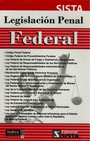 LEGISLACION PENAL FEDERAL 2015