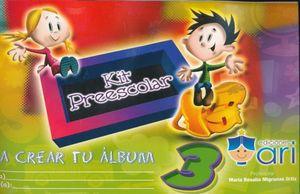 ALBUM KIT 3 PREESCOLAR