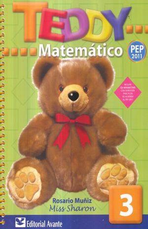 TEDDY MATEMATICO 3. PREESCOLAR / 22 ED. (INCLUYE CD)