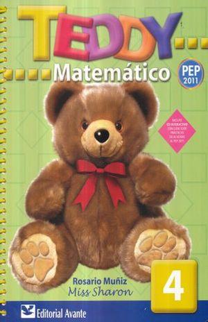TEDDY MATEMATICO 4. PREESCOLAR / 9 ED. (INCLUYE CD)