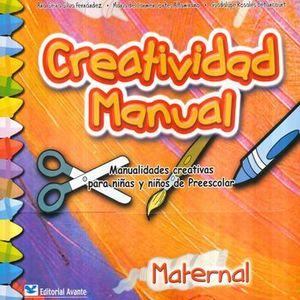 CREATIVIDAD MANUAL MATERNAL. PREESCOLAR