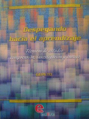DESPEGANDO HACIA EL APRENDIZAJE. TECNICAS DE ESTUDIO COMPRENSION INVESTIGACION Y ENSAYO