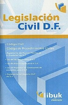 LEGISLACION CIVIL D F