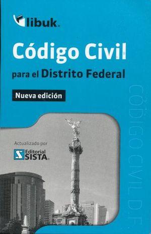 CODIGO CIVIL PARA EL DISTRITO FEDERAL