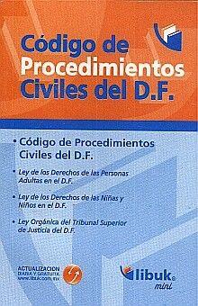 CODIGO DE PROCEDIMIENTOS CIVILES DEL D.F.