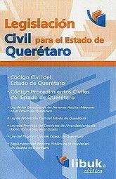 LEGISLACION CIVIL PARA EL ESTADO DE QUERETARO