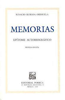 MEMORIAS EPITOME AUTOBIOGRAFICO 2/ED