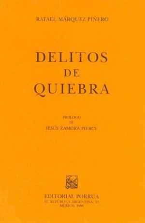 DELITOS DE QUIEBRA / 2 ED.