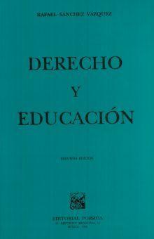 DERECHO Y EDUCACION