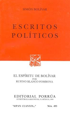 # 495. ESCRITOS POLITICOS