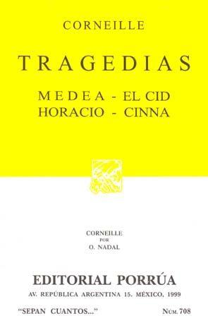 # 708. TRAGEDIAS. MEDEA / EL CID / HORACIO / CINNA